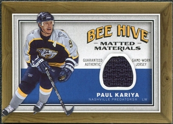2006/07 Upper Deck Beehive Matted Materials #MMPK Paul Kariya