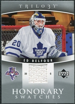 2006/07 Upper Deck Trilogy Honorary Swatches #HSEB Ed Belfour