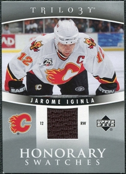 2006/07 Upper Deck Trilogy Honorary Swatches #HSJI Jarome Iginla