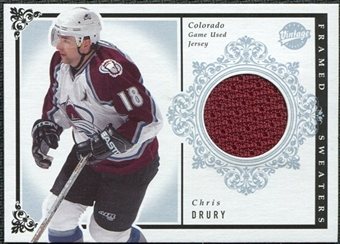 2002/03 Upper Deck Vintage Jerseys #FSCD Chris Drury