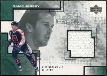2000/01 Upper Deck UD Pros and Prospects Game Jerseys #MM Mike Modano