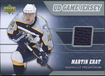 2006/07 Upper Deck Game Jerseys #JME Martin Erat