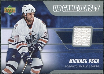 2006/07 Upper Deck Game Jerseys #JMP Michael Peca