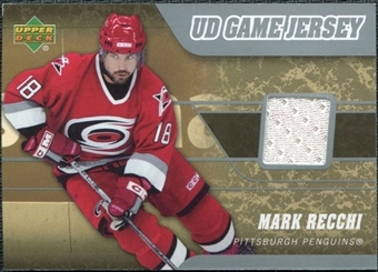 2006/07 Upper Deck Game Jerseys #JMR Mark Recchi