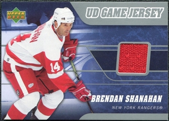 2006/07 Upper Deck Game Jerseys #JSH Brendan Shanahan