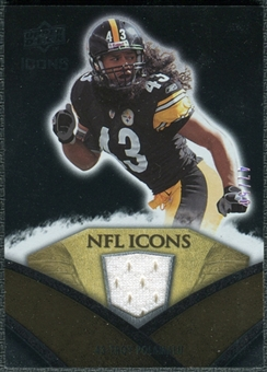 2008 Upper Deck Icons NFL Icons Jersey Gold #NFL47 Troy Polamalu /50