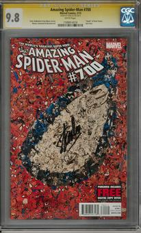 Amazing Spider-Man #700 CGC 9.8 (W) Stan Lee Signature Series *1189914018*