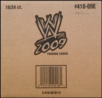 2009 Topps WWE Wrestling 24-Pack 16-Box Case
