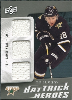 2009/10 Upper Deck Trilogy Hat Trick Heroes #HTHJN James Neal