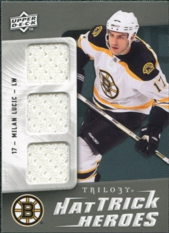 2009/10 Upper Deck Trilogy Hat Trick Heroes #HTHML Milan Lucic