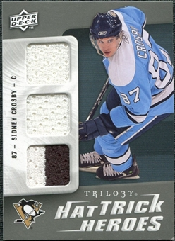 2009/10 Upper Deck Trilogy Hat Trick Heroes #HTHSC Sidney Crosby