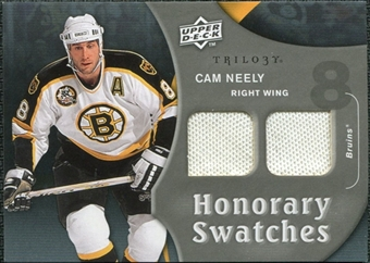 2009/10 Upper Deck Trilogy Honorary Swatches #HSCN Cam Neely