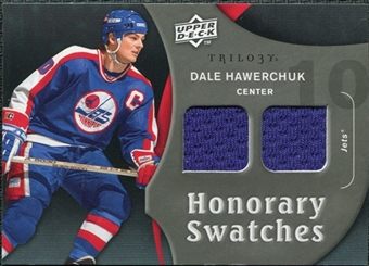2009/10 Upper Deck Trilogy Honorary Swatches #HSDH Dale Hawerchuk