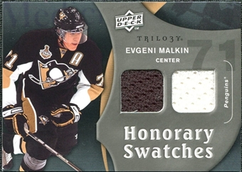 2009/10 Upper Deck Trilogy Honorary Swatches #HSEM Evgeni Malkin