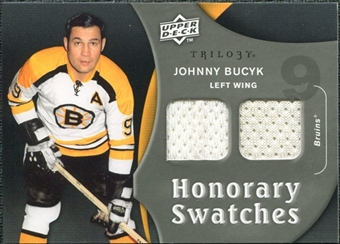 2009/10 Upper Deck Trilogy Honorary Swatches #HSJB Johnny Bucyk