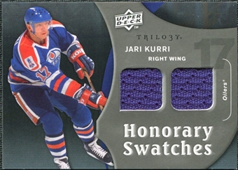 2009/10 Upper Deck Trilogy Honorary Swatches #HSJK Jari Kurri