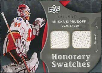 2009/10 Upper Deck Trilogy Honorary Swatches #HSMK Miikka Kiprusoff