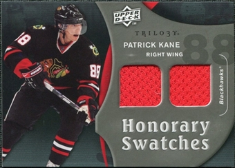 2009/10 Upper Deck Trilogy Honorary Swatches #HSPK Patrick Kane