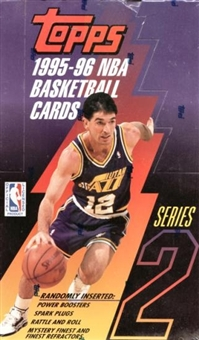 1995/96 Topps Series 2 Basketball Hobby Box