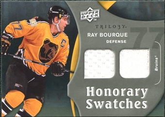 2009/10 Upper Deck Trilogy Honorary Swatches #HSRB Ray Bourque