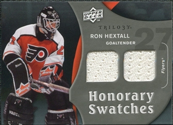 2009/10 Upper Deck Trilogy Honorary Swatches #HSRH Ron Hextall