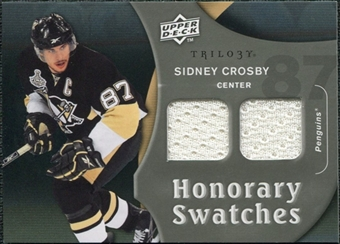 2009/10 Upper Deck Trilogy Honorary Swatches #HSSC Sidney Crosby