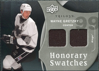 2009/10 Upper Deck Trilogy Honorary Swatches #HSWG Wayne Gretzky