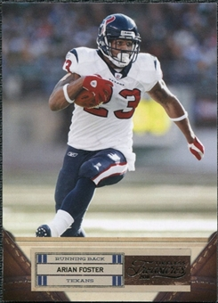 2011 Panini Timeless Treasures #7 Arian Foster /499