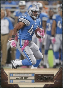 2011 Panini Timeless Treasures #38 Jahvid Best /499