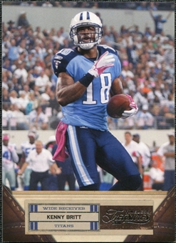 2011 Panini Timeless Treasures #51 Kenny Britt /499
