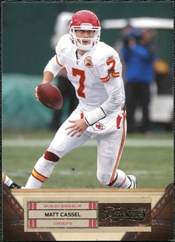 2011 Panini Timeless Treasures #61 Matt Cassel /499