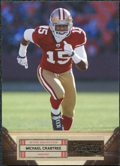 2011 Panini Timeless Treasures #67 Michael Crabtree /499