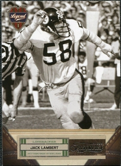 2011 Panini Timeless Treasures #114 Jack Lambert /499