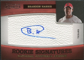 2011 Panini Timeless Treasures #141 Brandon Harris RC Autograph /463