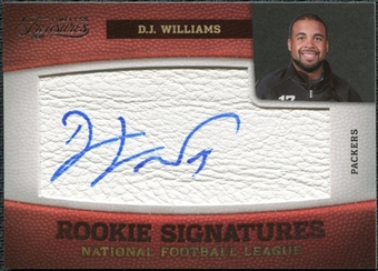 2011 Panini Timeless Treasures #150 D.J. Williams RC Autograph /299