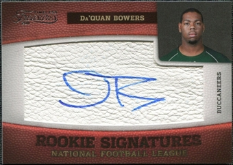 2011 Panini Timeless Treasures #152 Da'Quan Bowers RC Autograph /463