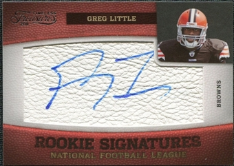 2011 Panini Timeless Treasures #161 Greg Little RC Autograph /165