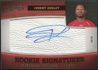2011 Panini Timeless Treasures #168 Jeremy Kerley RC Autograph /299