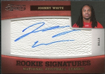 2011 Panini Timeless Treasures #171 Johnny White RC Autograph /463