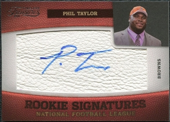 2011 Panini Timeless Treasures #193 Phil Taylor RC Autograph /458