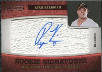 2011 Panini Timeless Treasures #202 Ryan Kerrigan RC Autograph /299