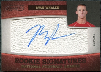 2011 Panini Timeless Treasures #204 Ryan Whalen RC Autograph /299