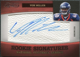 2011 Panini Timeless Treasures #222 Von Miller RC Autograph /265