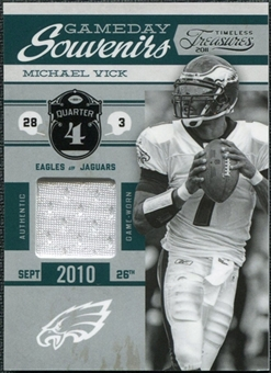 2011 Timeless Treasures Game Day Souvenirs 4th Quarter #2 Michael Vick /250