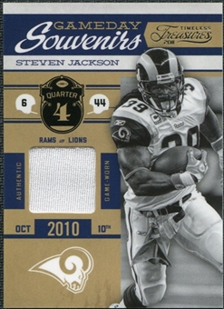 2011 Timeless Treasures Game Day Souvenirs 4th Quarter #11 Steven Jackson /250