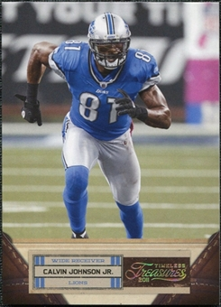 2011 Panini Timeless Treasures Gold #12 Calvin Johnson /49