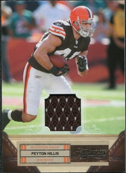 2011 Panini Timeless Treasures Jerseys #77 Peyton Hillis /250