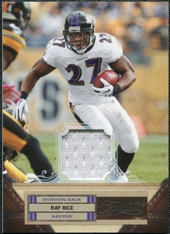 2011 Panini Timeless Treasures Jerseys #82 Ray Rice /250