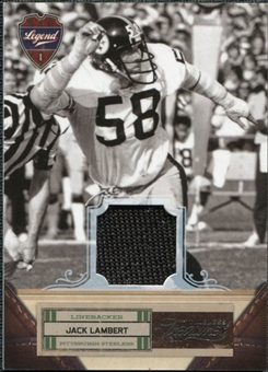 2011 Panini Timeless Treasures Jerseys #114 Jack Lambert /250