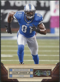 2011 Panini Timeless Treasures Silver #12 Calvin Johnson /99